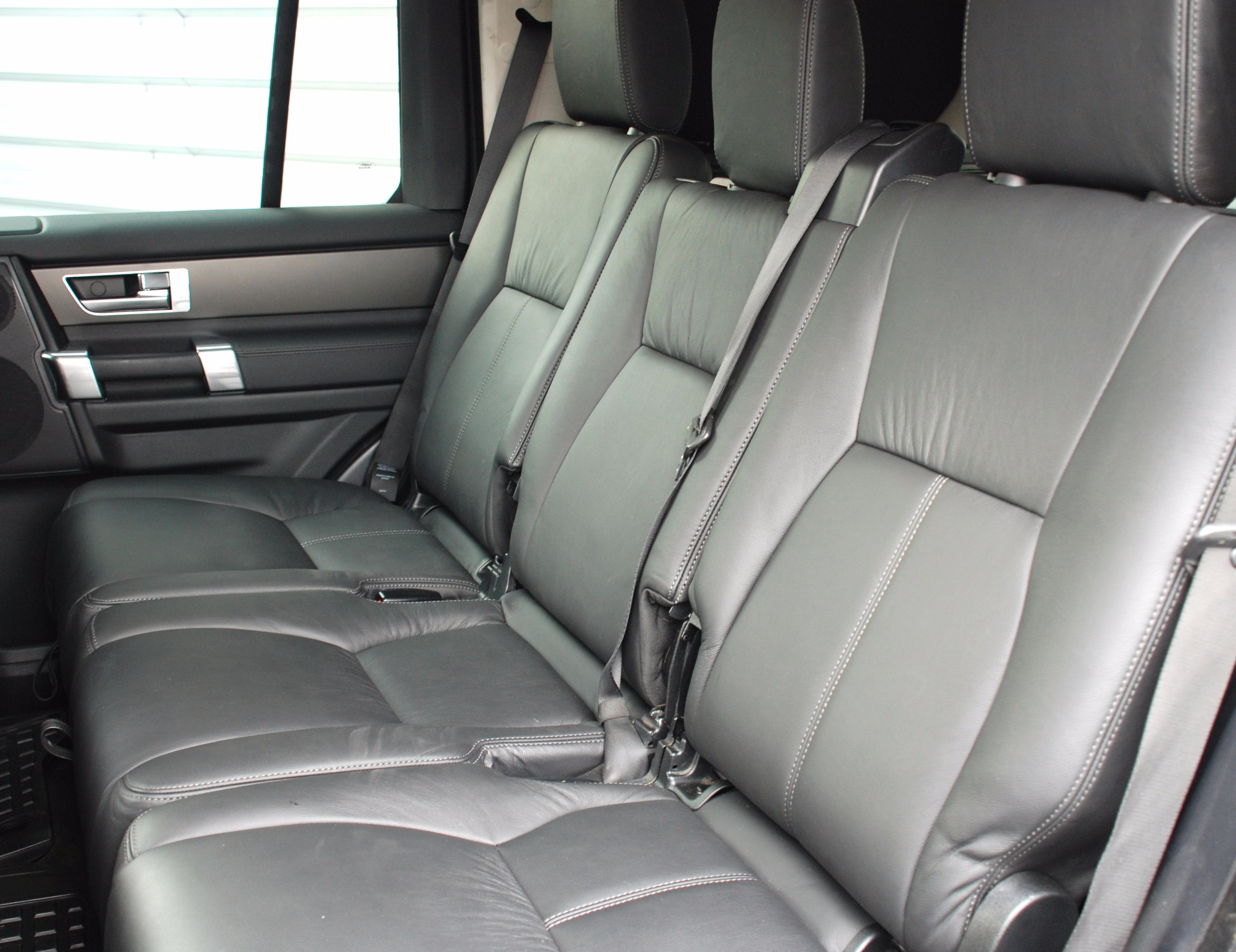 Removable Rear Seat and Heated Front Seat Conversions for Discovery Commercial Vehicles