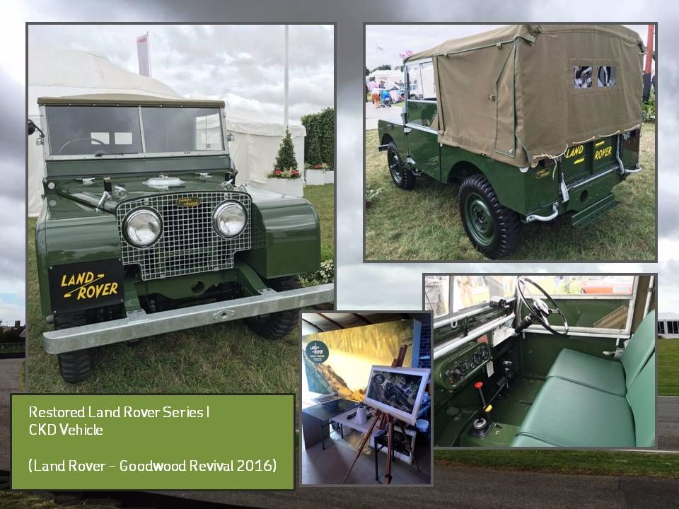 Land Rover Series I Reborn!