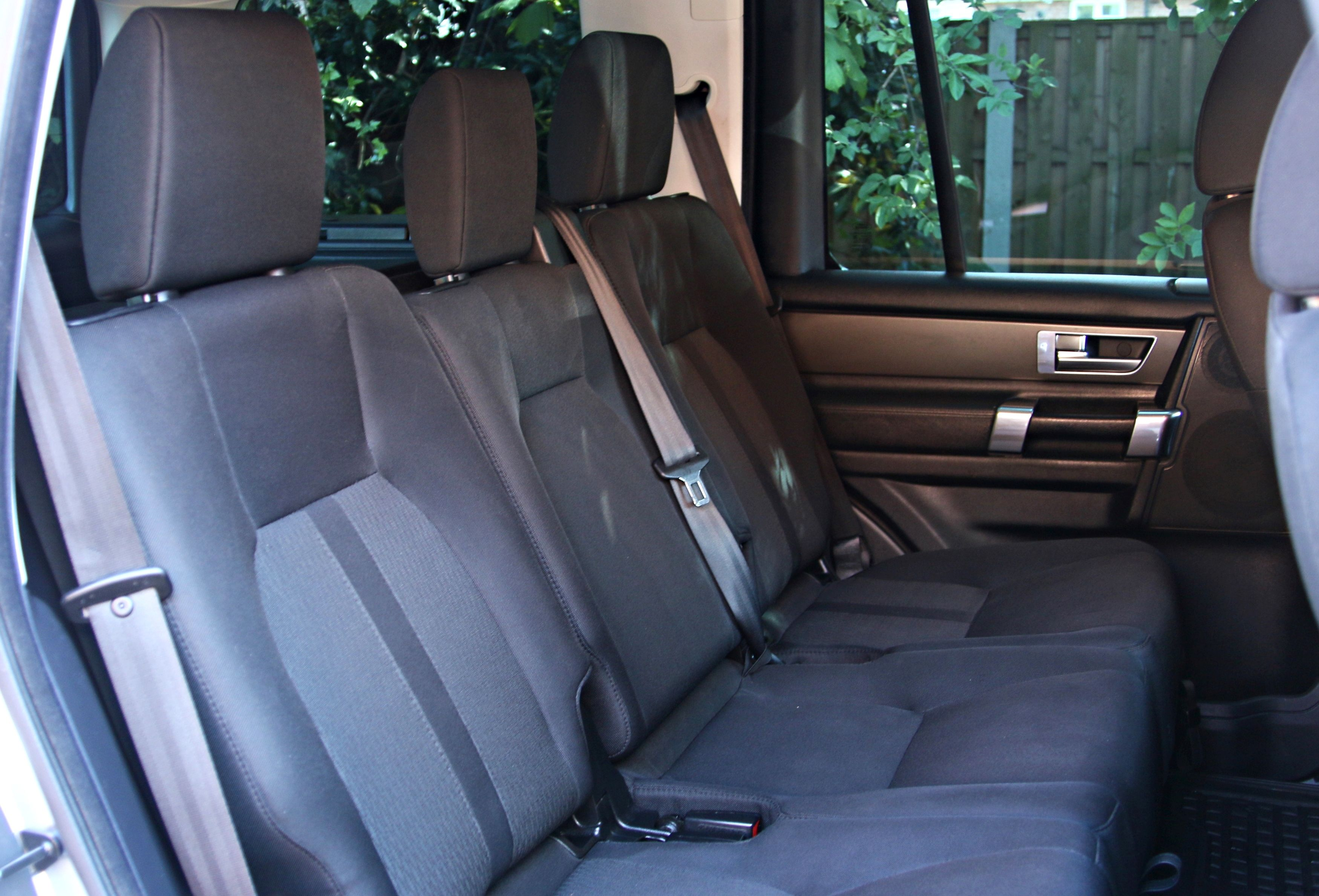 Rear Seat Conversions for Used Land Rover Commercial Discovery 4 using Genuine Land Rover Cloth Rear Seats with Isofix (from the 2009-2015 model) - £1,650+VAT