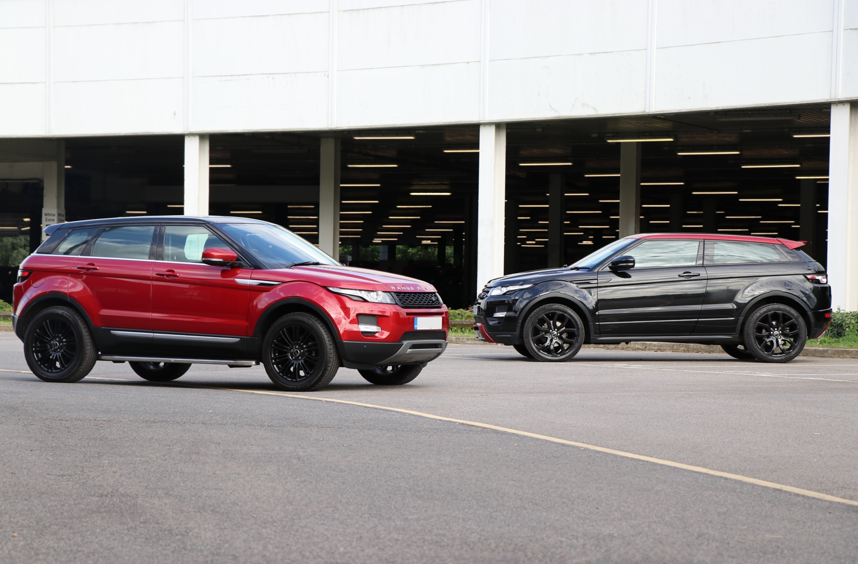 Range Rover Evoques styled by Seeker Styling