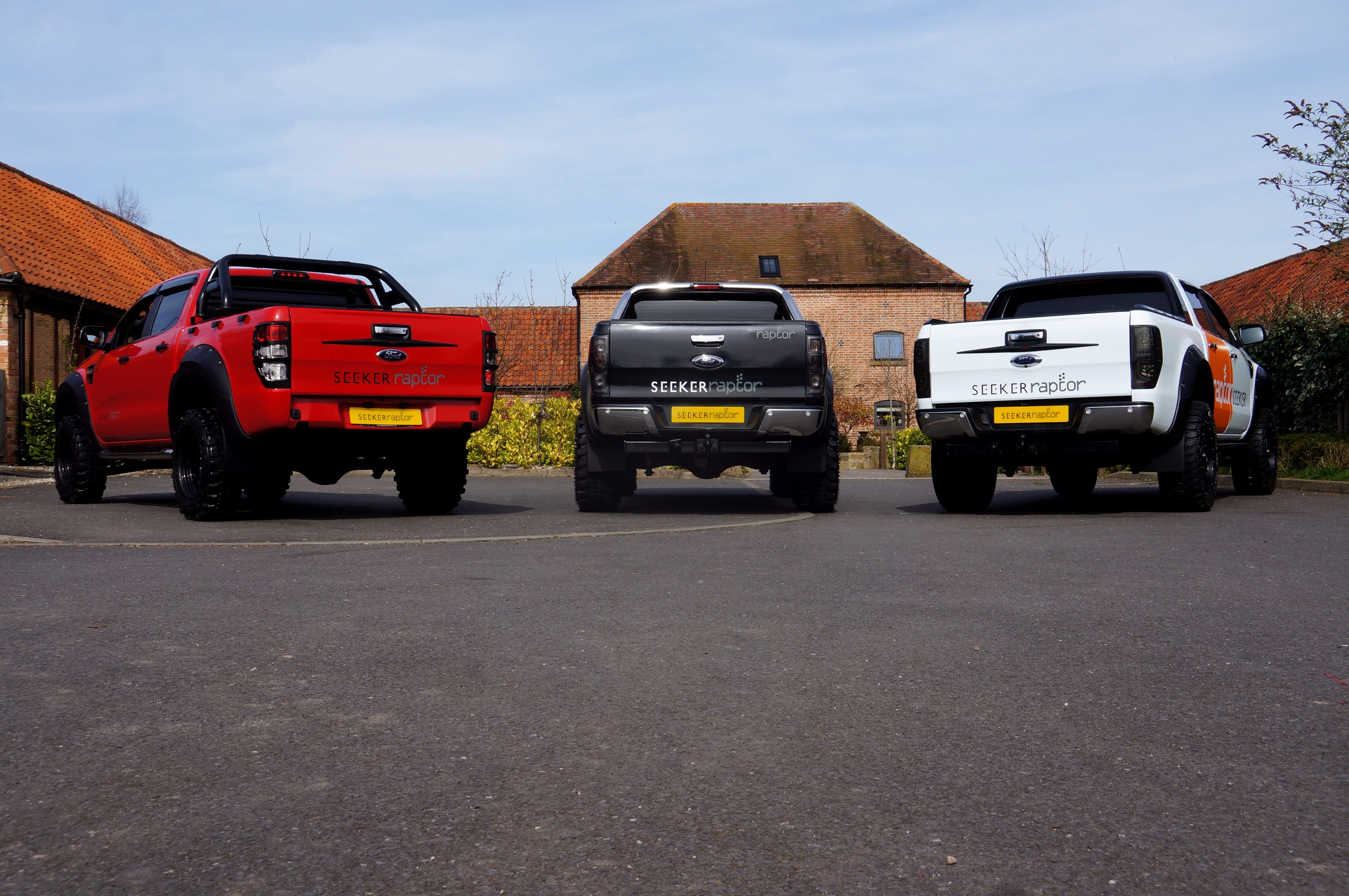 Ford Ranger 2.2 SEEKER Raptor Editions from Motorseeker UK.  From £15,995 plus VAT.