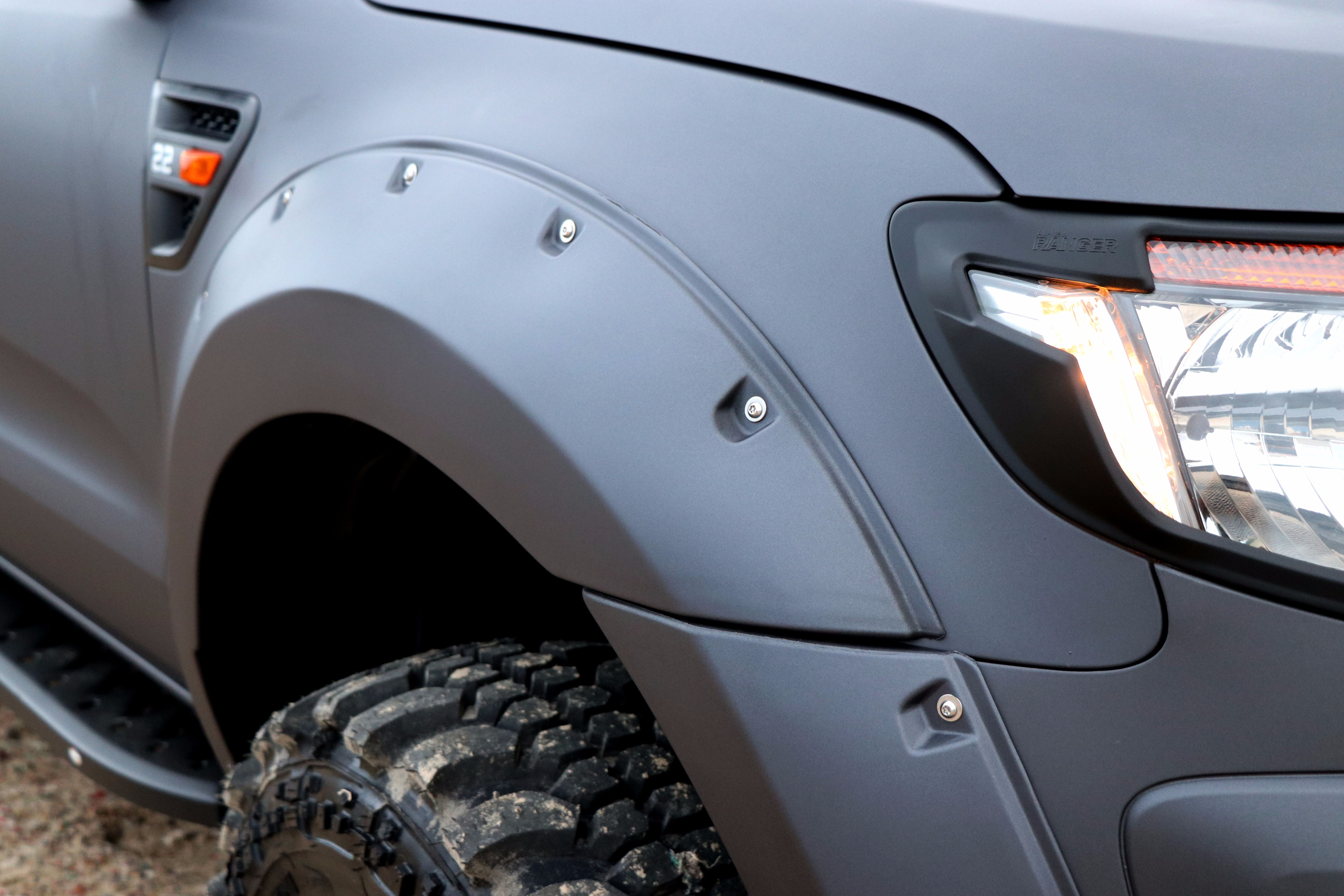 SEEKER Raptor Camo Grey Edition for the Ford Ranger