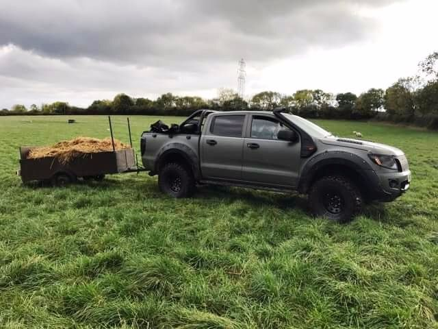 Our Ford Ranger SEEKER Raptor - A firm favourite within the equestrian community!