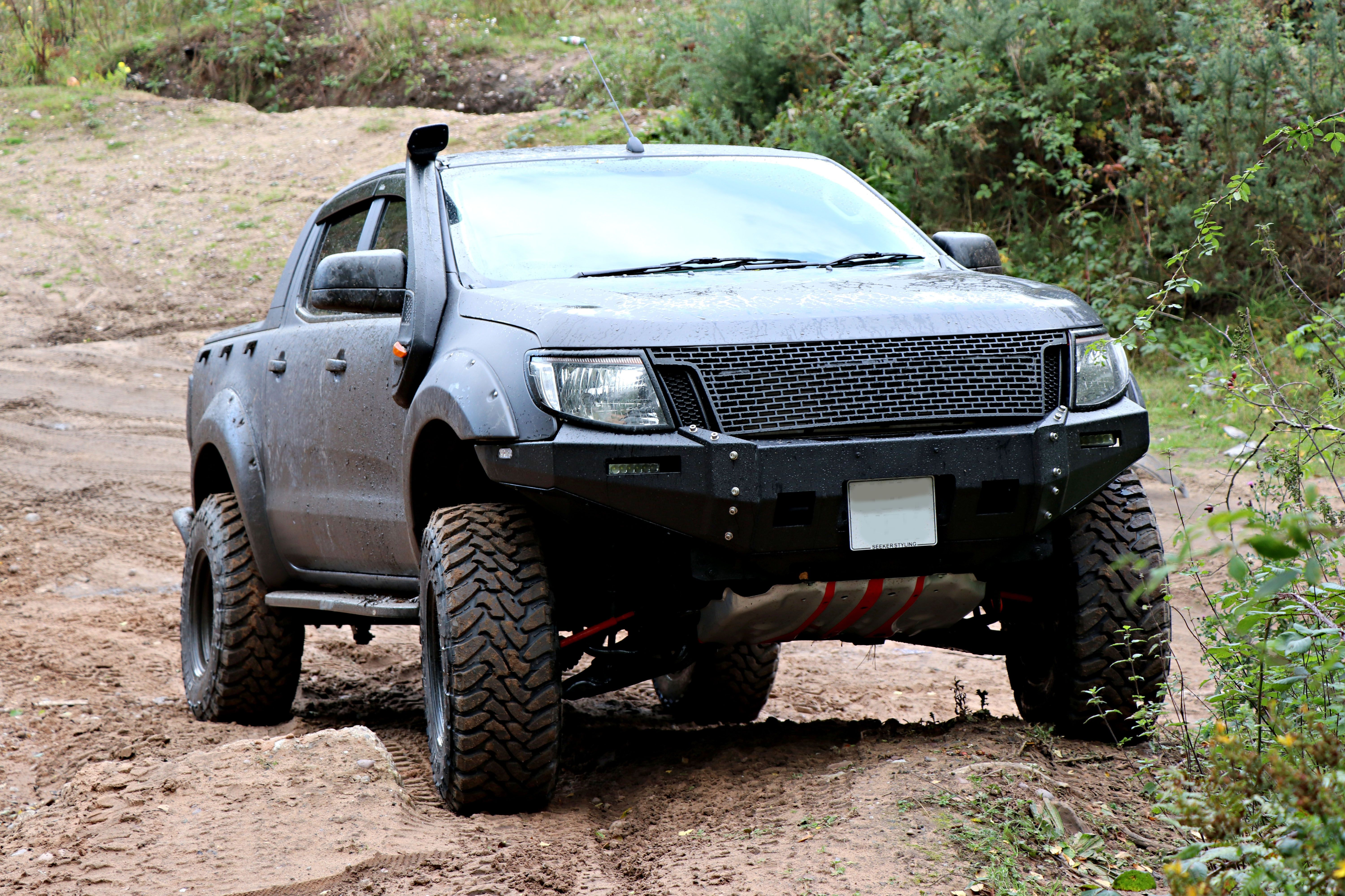 Ford Ranger SEEKER Raptor - Special Off-road Camo Edition!