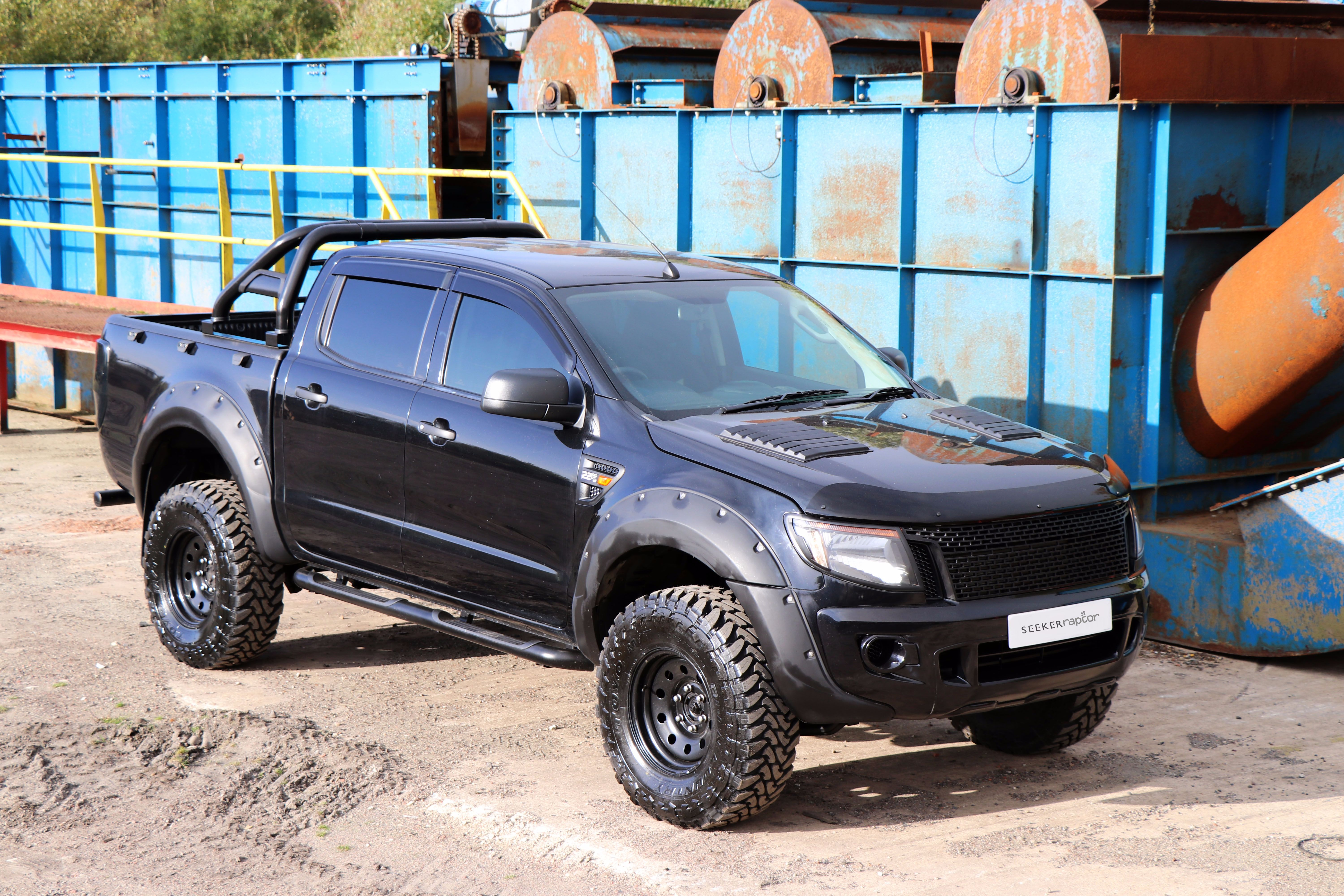 ford ranger seeker raptor all black edition now launched. Black Bedroom Furniture Sets. Home Design Ideas
