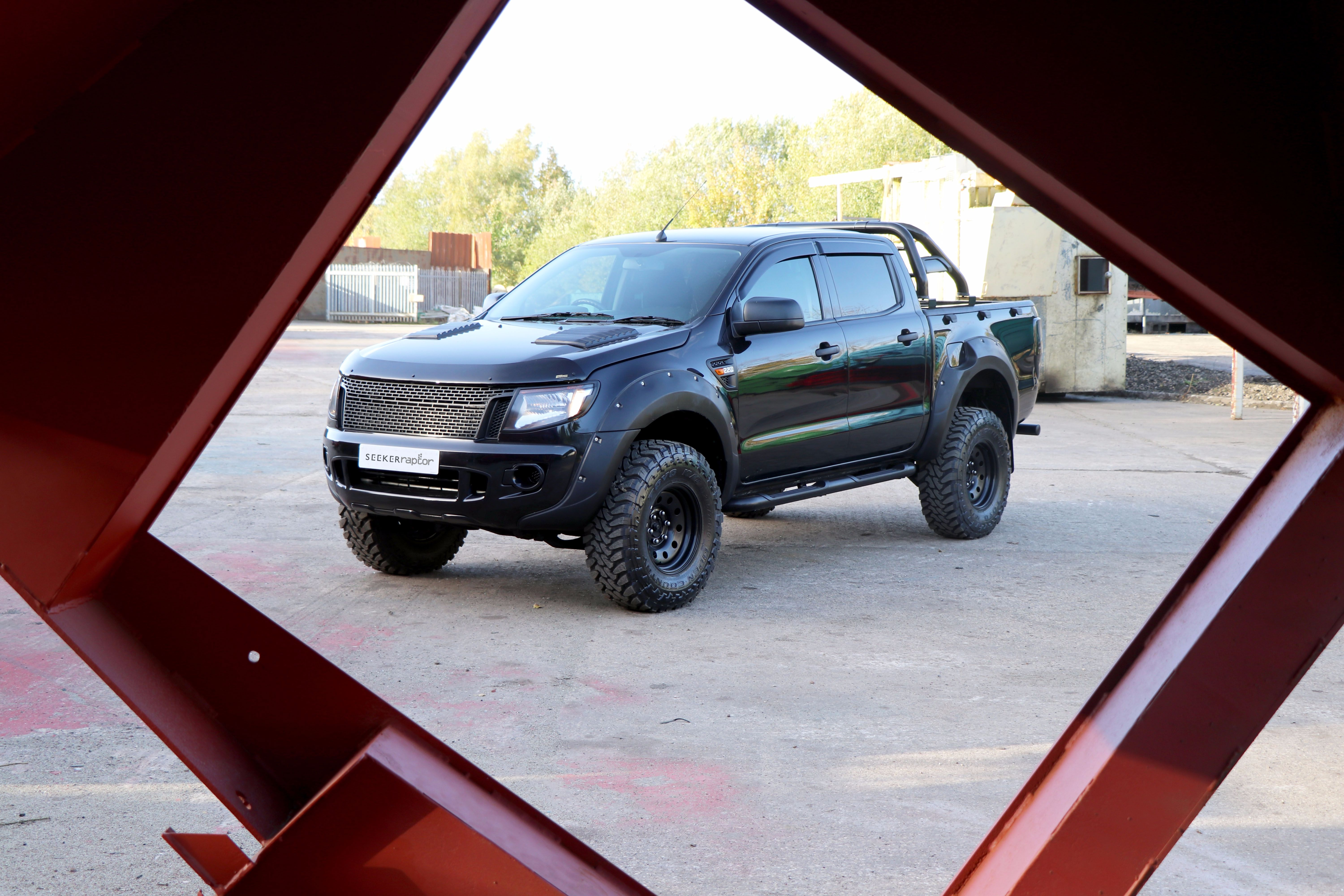 Ford Ranger SEEKER Raptor All Black Edition - now launched!