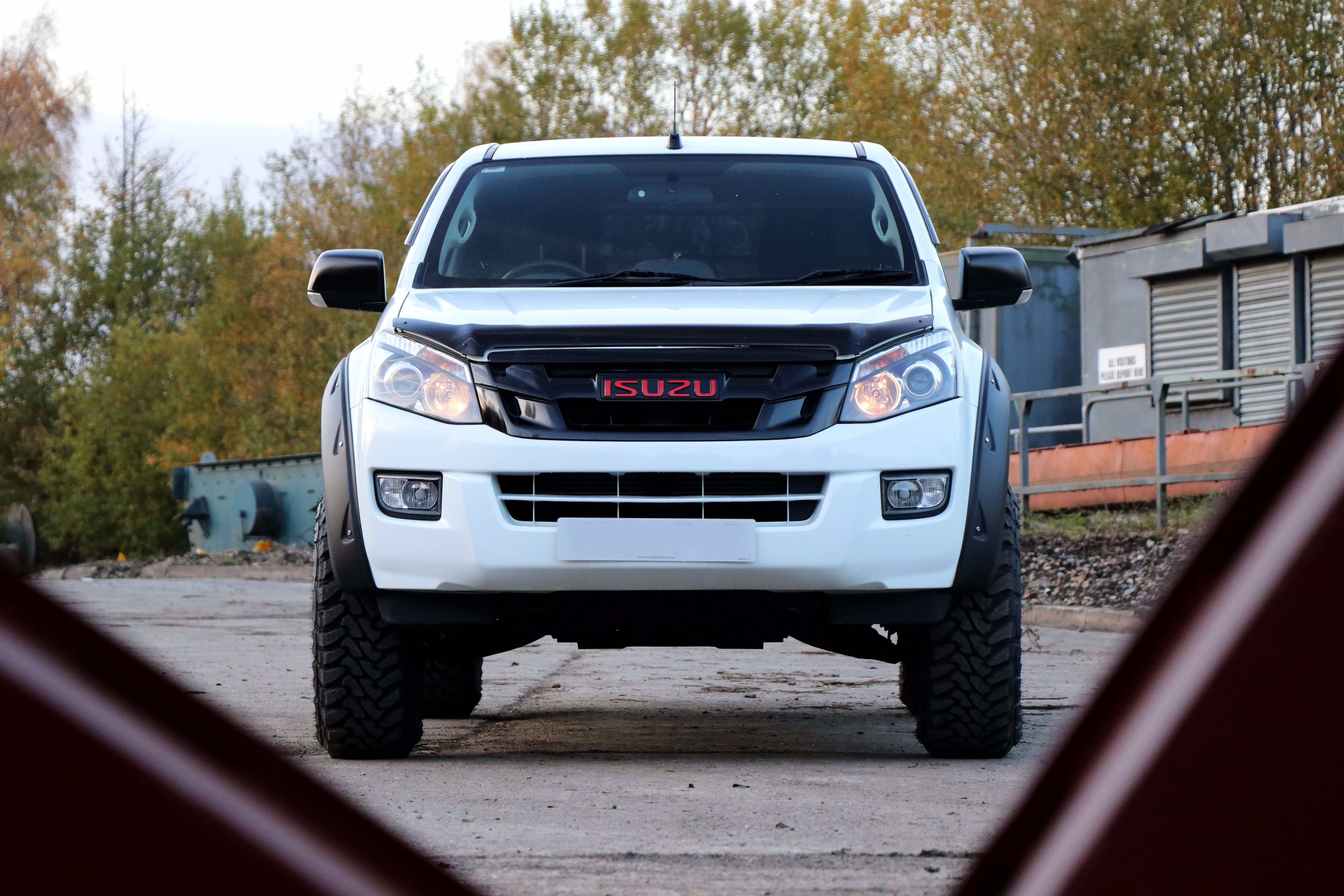 The SEEKER Fury Edition - a conversion for the Isuzu D-Max!