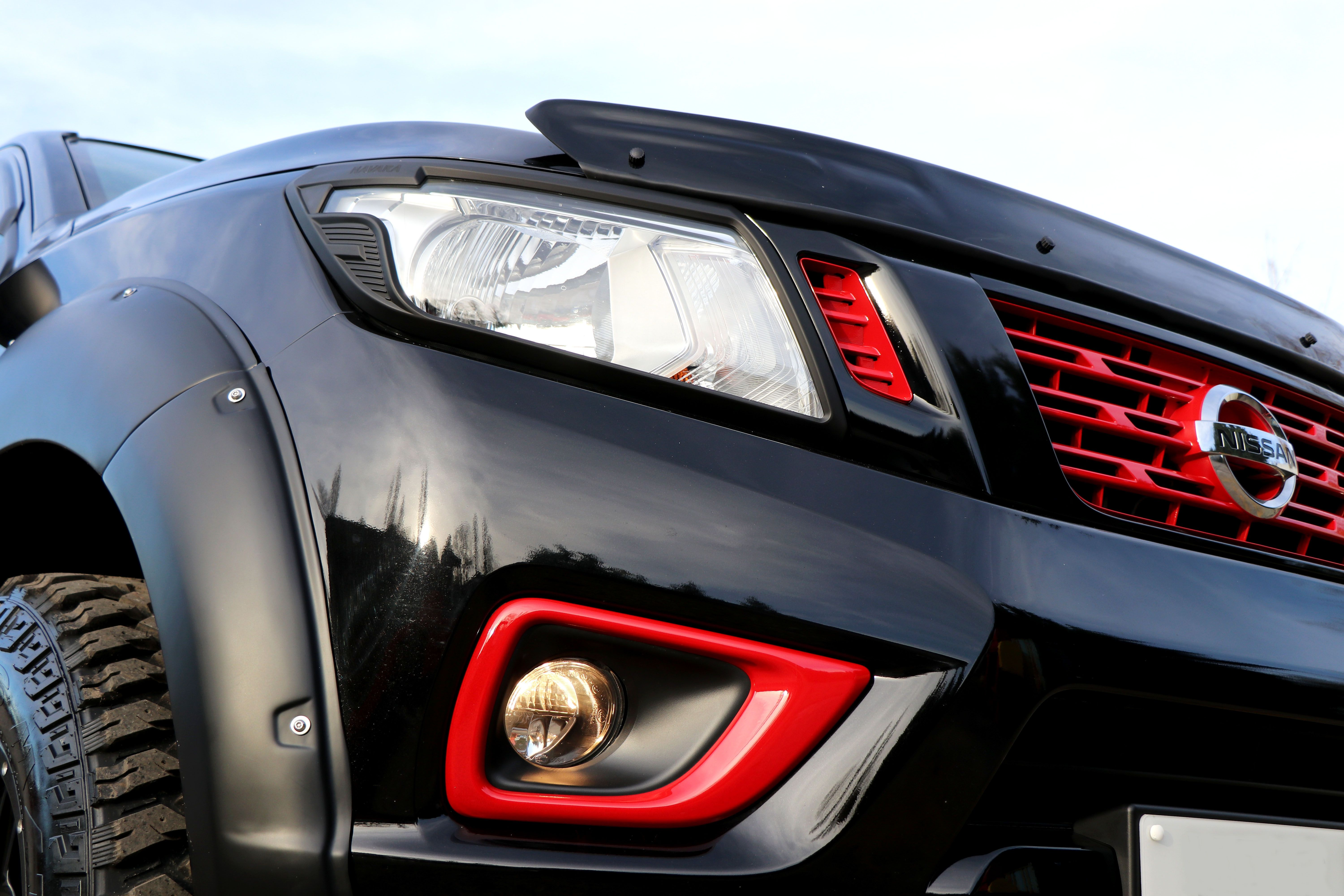 SEEKER Tungsten Carbide Special Editions - a conversion for the Nissan Navara